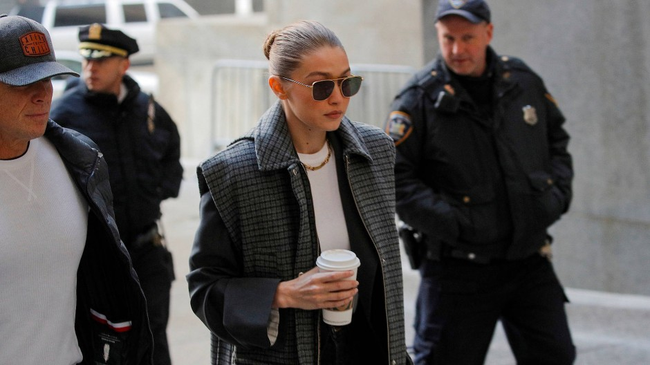 Model Gigi Hadid gehörte zu dem Pool potentieller Juroren im Prozess gegen den ehemaligen Filmproduzenten Harvey Weinstein.