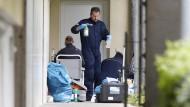 Am 30. April dieses Jahres durchsuchten Polizisten die Wohnung des mutmaßlichen Islamisten-Ehepaars in Oberursel im Taunus.