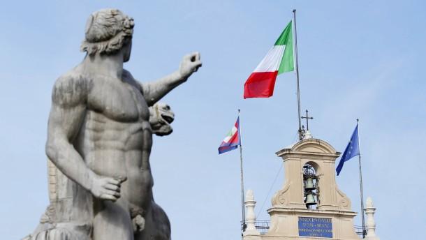 Italiens Kreditwert nähert sich Ramschniveau