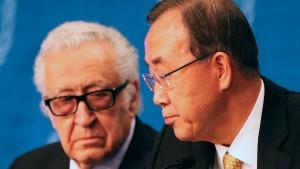 Brahimi wirbt für direkte Gespräche