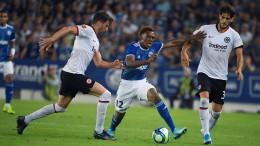Eintracht Frankfurt droht Aus in Europa League