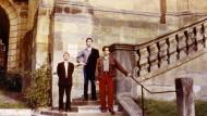 1985: Rüdiger Schöttle, Thomas Struth und Thomas Ruff (von links)