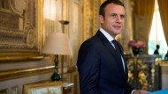 Hoffnungsträger unter Druck: Emmanuel Macron