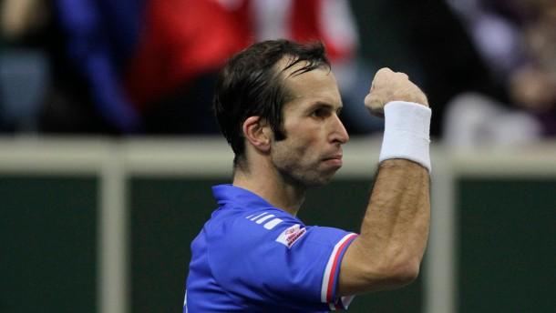 Stepanek sichert Tschechien den Davis Cup