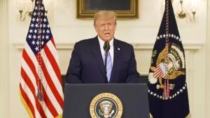 Trump verurteilt Krawalle und ruft zu Versöhnung auf