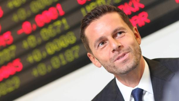 """"""" Uebernahme bei Superfund """" Christian Baha ( im Bild ) kauft seinen Partner..."""