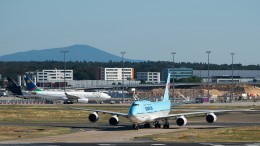 Flugzeug-Kollision auf dem Frankfurter Flughafen