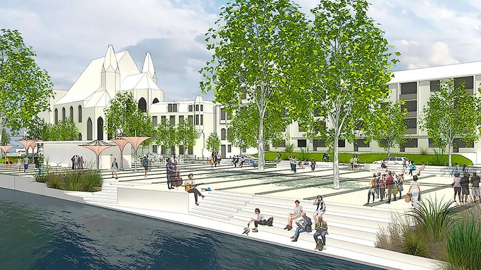 Wohlfühlen am Wasser: Auch die CDU will den Mainkai zu einem angenehmen Aufenthaltsort machen.