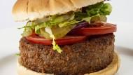 Sieht (fast) aus wie das Original: der vegetarische Burger von Beyond Meat