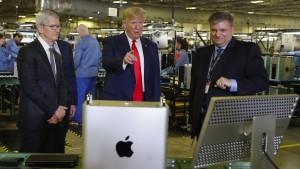 Trump macht Apple Hoffnung