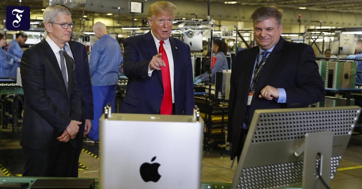 Freundschaftstest: Trump macht Apple Hoffnung