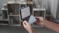 """One more thing? Am Mittwoch stellte Microsoft das """"Surface Duo"""" vor."""