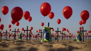 Mehr als 100.000 Corona-Tote in Brasilien