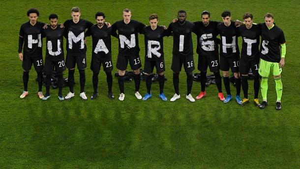 DFB-Team setzt ein Zeichen