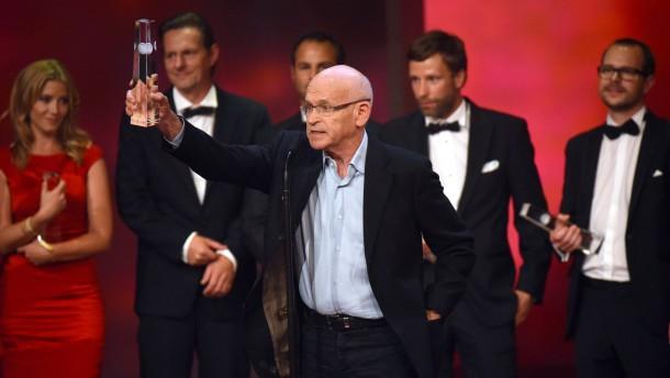 Deutscher Fernsehpreis für Welke, Wallraff, Wiesnekker
