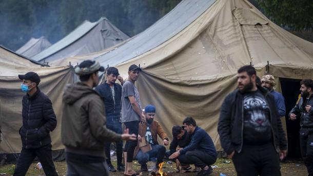 EU beruft Sondersitzung zu Grenzübertritten aus Belarus ein