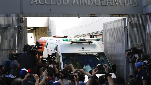Diego Maradona aus Krankenhaus entlassen