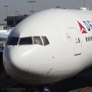 Ein Passagierflugzeug von Delta Airlines musste wegen Problemen kurz nach dem Start Treibstoff ablassen, um landen zu können.