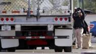 Texas: Überhitzter Lastwagen wird zur Todesfalle