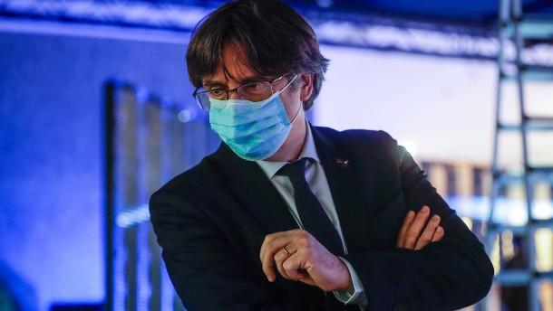 Immunität von Carles Puigdemont aufgehoben