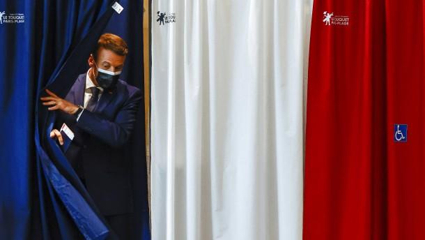 Dämpfer für Macron und Le Pen