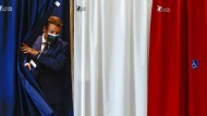 Die Partei von Emmanuel Macron schnitt bei den Kommunalwahlen in Frankreich schlecht ab.