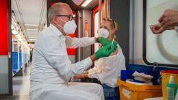 So wenig Impfungen an einem Tag wie zuletzt am 7. Februar