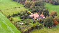 Der abgelegene Hof, auf dem die Familie jahrelang gelebt haben soll.