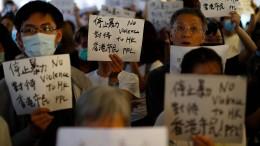 Darum geht Hongkong auf die Straße