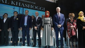Gedenkminute für Khashoggi in Istanbul