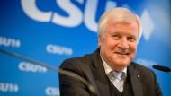 Horst Seehofer Anfang Februar bei einer Pressekonferenz im Anschluss an eine CSU-Vorstandssitzung