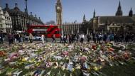 Blumen für die Opfer des Anschlags, Bild vom 26. März