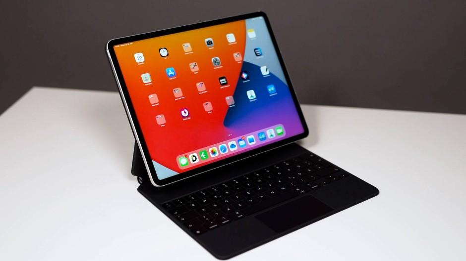 Auf ein iPad Pro mit Technik & Motor