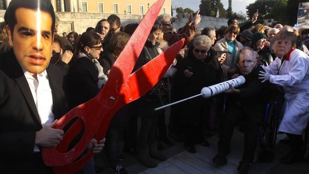 Reformideen aus Athen fallen durch