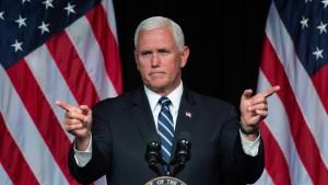 Washington will harten Kurs gegen Ankara fortsetzen