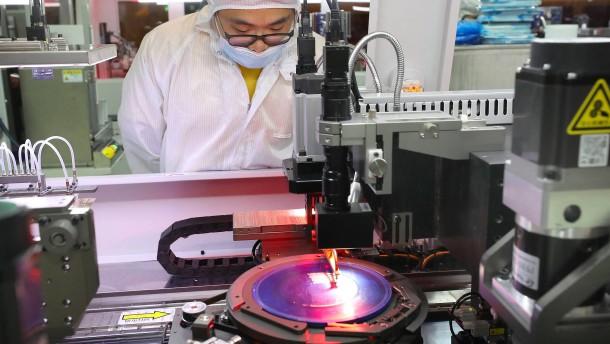 China will die Chip-Autarkie