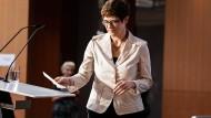 Zunehmend glücklos: CDU-Vorsitzende Annegret Kramp-Karrenbauer