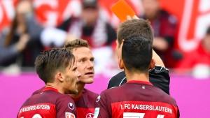 Trist, trister, Lautern gegen Bielefeld