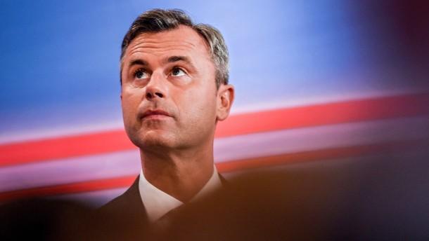 Erdrutschsieg für FPÖ bei Vorentscheid um Präsidentenamt