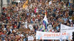 #Unteilbar-Demo in Berlin