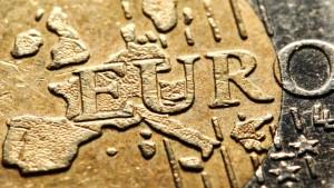 Der Euro ist so billig wie seit elf Monaten nicht mehr