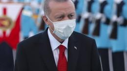 Nur wenige Länder folgen Erdogans Empörung