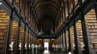 Forschungsort mit Tradition: die Bibliothek des Trinity Colleges in Dublin. An der Universität in der irischen Hauptstadt trafen sich die EISRI-Teilnehmer