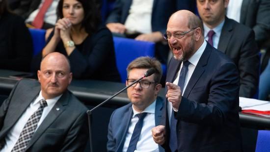 Schulz platzt nach Gauland-Rede der Kragen