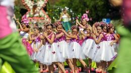 Farbenfrohes Blumenfest auf Madeira