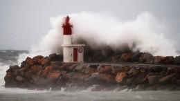 Wintersturm am Mittelmeer