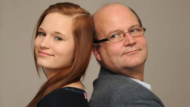 """Markus und Zoe Collalti - Vater und Tochter streiten sich über die Fernsehserie """"Berlin - Tag und Nacht"""""""