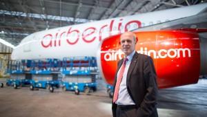 Air-Berlin-Chef bekommt trotz Abgangs mehr als eine Million Euro Gehalt
