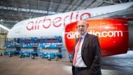 Stefan Pichler wird Air Berlin Ende Januar 2017 verlassen