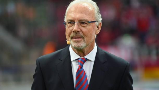 Beckenbauer auch von Bildschirmen verbannt